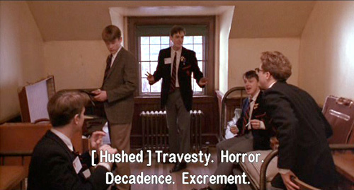 dead poet society review essay