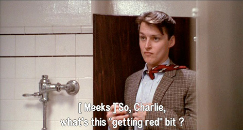 Dead Poets Society: Charlie Dalton gets red