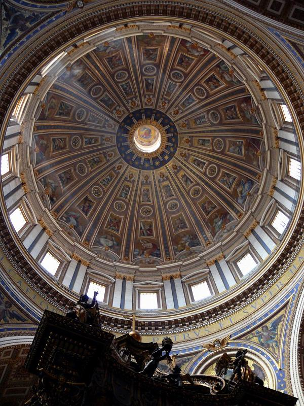 Deat Poets Society: Dome of St Peter's Basicila, designed by Michaelangleo at the age of 88