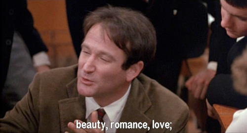 Dead Poets Society: John Keating unleashes the power of his face scrunch