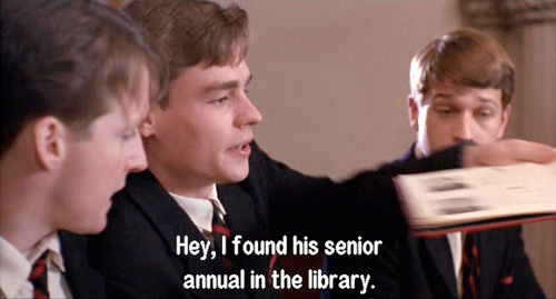 Dead Poets Society: Students discuss Keating's School Annual