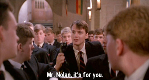 Dead Poets Society: Charlie Dalton receives a phone call from God 4/6