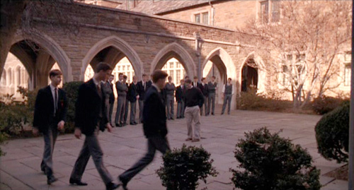 Dead Poets Society: Is marching in step really symptomatic of conformity?