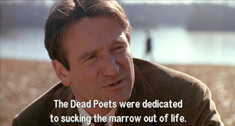Dead Poets Society: John Keating infects boys with Dead Poets Society virus