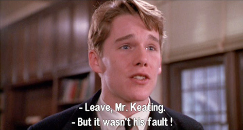 Dead Poets Society: Todd Anderson pleads in defense of John Keating