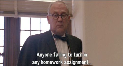 Dead Poets Society: Trigonometry Homework