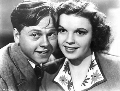 Mickey Rooney and Judy Garland in Babes in Arms