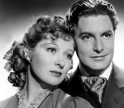 Robert Donat and Greer Garson in Goodbye, Mr Chips