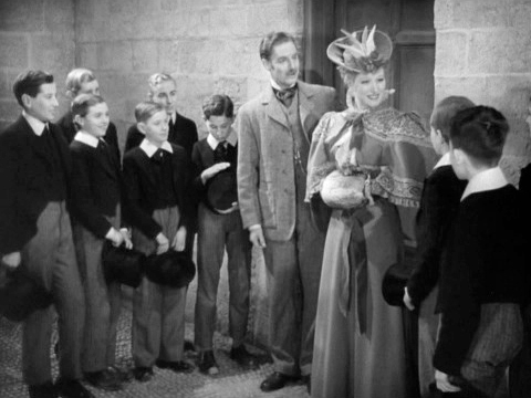 Goodbye Mr Chips: Katherine meets some of the Brookfield boys