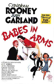 Babes in Arms (1939) movie poster