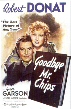 Goodbye, Mr Chips (1939) movie poster