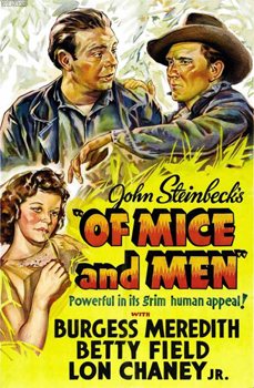 Of Mice and Men (1939) movie poster