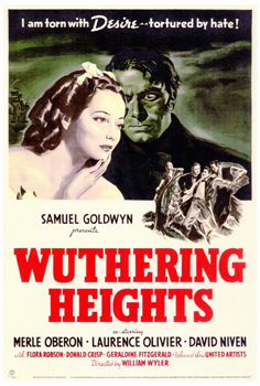Wuthering Heights (1939) movie poster